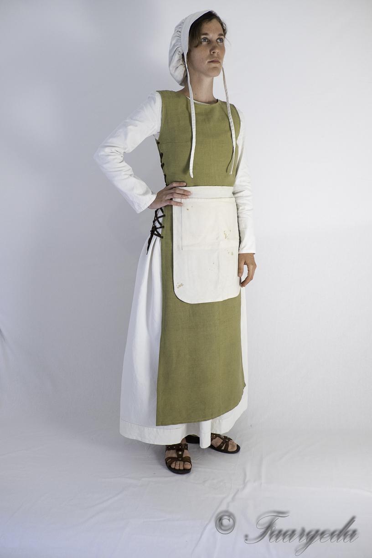 Costume Médiéval De Cuisinière