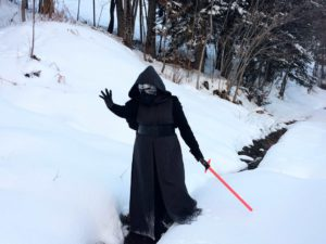 Kylo Ren costume for woman
