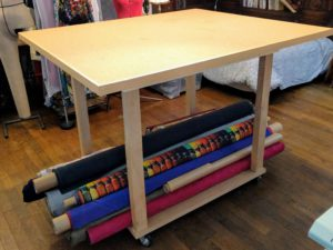 Make a sewing table